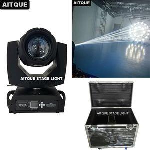 (12 개 / 케이스) 클럽 조명 장비 lyre spot beam 7r 230w moving head light sharpy r7 beam 230w movinghead pro flight case
