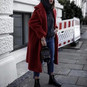 Зимняя куртка женщин шубы куртка фуги стрит марочных искусственный мех пальто корейских плюшевая женской одежда ветровка