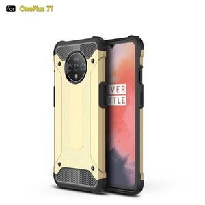 Luxury Impact Resistant Silicone Shockproof Phone Case for Oneplus 7T Rugged Armor Dual Layer Cover Case