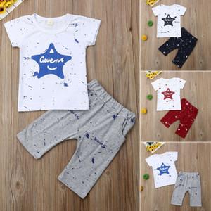 Bebek Bebek Boys Kız Giyim Güzel tişört + Pant Legging Kıyafetler Seti Çocuk Yeni Moda Giyim