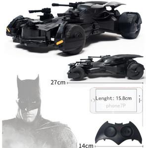 carro eletricidade Batman Superman Liga da Justiça elétrica Batman modelo de brinquedo do carro de RC carro crianças exibição de simulação presente Batmobile