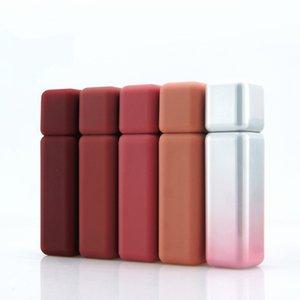 화려한 프로스트 질감 립글로스 튜브 플라스틱 립 글로스 컨테이너 화장품은 / 부지 컨테이너 50PCS 포장 비우기 5ML