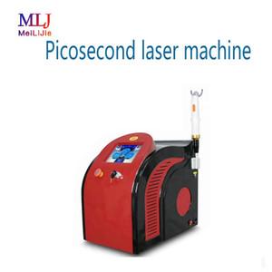 2019 transporte livre ND Yag Laser tatuagem remoção Q comutado 532nm 1064nm 755nm pico picosecond máquina