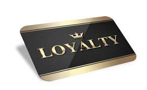 (1000pcs / lot) özel plastik indirim hediye kartı / sadakat kartı / üyelik kartı