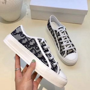 2020 Classics Women Shoes Designer Shoe Quality Luxury leather Sneaker Loafer Espadrilles platform mens trainers air shoe001store DI07