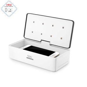 LED UV stérilisante Box pour téléphone portable, des lunettes, montres, outil d'ongle, outil de beauté avec 8 LEDs 59S S2