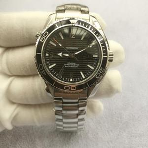 Venda de luxo Hot Men Watch Melhor Edição velocidade movimento automático Mar Designer Assista Planet Ocean 600m Professional Diver Mens Watch