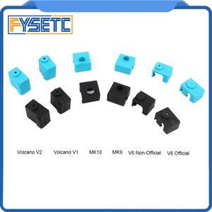 3 pièces d'impression imprimante 3D Accessoires Sock silicone pour E3D V6 PT100 7 8 MK9 MK10 Volnaco 1,75 3.0mm Chaussettes silicone