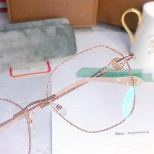 Горячая супер-Exqusite женщин оправы очки кадр мути-образный Алмаз украшения ультрасовременные очки для рецепта очки полный комплект упаковки