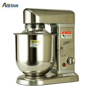 AST-B10S Sıcak Satış Mutfak İşlevli Standı Mikser Makinesi Gıda Mikser 5/7/10 Litre