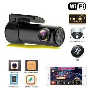 Full HD 1080P WiFi Car DVR Vehicle Camera Dash Cam Night Vision Wide Angle Video Recorder G-Sensor for IOS Android Smartphones