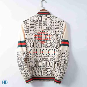 2020 mens calientes diseñador chaquetas de dril de algodón chaquetas de los hombres de Hip Hop Marca de lujo de la chaqueta Ropa de Hombre Ropa de abrigo abrigos de los hombres