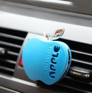 Auto A Car Perfume Автомобильный Освежитель воздуха Парфюмерия 30 г Различные Запахи Симпатичные Apple Форма Автомобиль Парфюмерные Авто Аксессуары Бесплатная Доставка