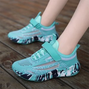 DIMI 2020 Spring Autumn Children Shoes Boys Girls Sport Shoes Fashion Breathable Mesh Boy Sneakers Outdoor Casual Kids Shoes