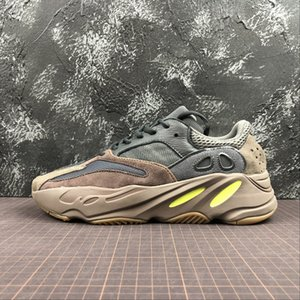 700 Wave Runner Mauve sneakers kanye sneaker west running shoes trainer youth kids men women trainers real boots EE9614 with box top quality