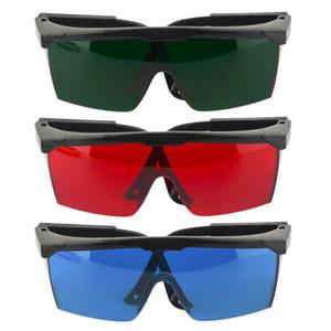 Tamax EG003 IPL-Brille Augenklappe 200nm-2000nm Laser-Augenschutz-Schutzbrille für rote und UV-Laser mit Etui