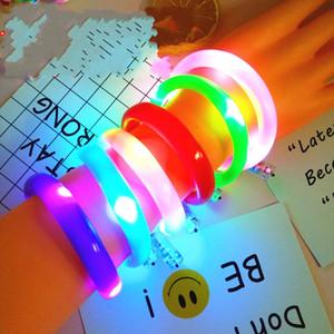 Flash Armbänder Party Lumineszenz Pu Optical Fiber Led Leuchten Spielzeug Beliebte Armbänder Bunte Mode Verkaufen Gut 4cxa J1