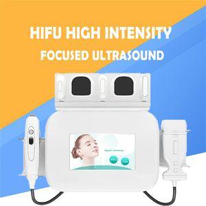 2020 HIFU High Intensity Focused Ultrasound Hifu Face Lift Machine Wrinkle Removal 2 in 1 liposonix for body slimming
