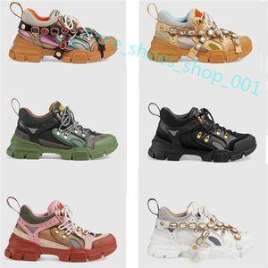 Gucci shoes Hococal 2020 Chaussures de sport pour les hommes et les femmes au printemps et à l'automne 2019 concepteur luxe chaussures diamant sport respirant en cuir loisirs