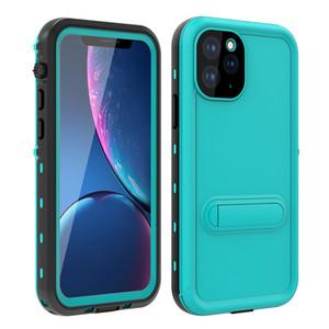 Roter Pfeffer IP68 wasserdichte Halterung Telefon-Kasten für iPhone 11 Pro X XR XS Max Samsung S20 Ultra-S10 Plus-Stoß- Hüllen