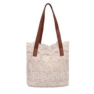 Xiniu Fashion Lady Shoulder Bag Purse Literary Lace Hollow Versatile Handbag Cotton Shoulder Bag Clutch Women Messenger Bags