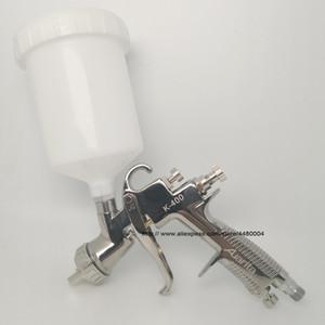 pistola a spruzzo di alta qualità k-400 1,4 millimetri 1,7 millimetri LVLP gravità spruzzo 600cc tazza ideale strumento automobilistico