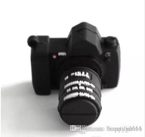 Yenilik Kamera Şekli 8 GB USB 2.0 Flash Sürücü Memory Stick Başparmak Depolama U Disk toptan