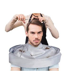 60CM للماء الكبار قص الشعر عباءة مظلة كيب صالون الحلاق تصفيف الشعر المصممون الرئيسية عن طريق الرؤوس الملابس أدوات RRA1375