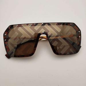 F impresión de la letra gafas de sol polarizadas UV400 acrílico Lentes de sol de conducción a caballo anti-radiación gafas de sol envío