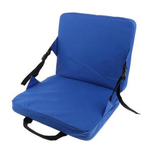 FSTE mecedora cojines al aire libre plegable del asiento Silla de la pesca y el respaldo del cojín para el coche Estadio Relleno