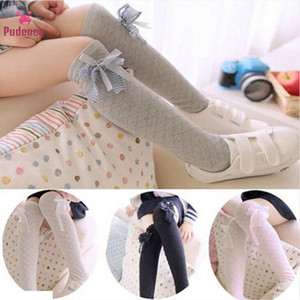 Pudcoco New Born 5 Colors Baby Socks Kids Toddlers Girls Bow Lovely Diamond Knee High Socks Tights Leg Warmer Stockings For Bebe