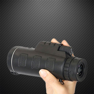 Viagem Monocular Telescope portátil 40X60 HD Pro Optics Outdoor com tripé
