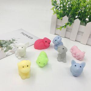 Мини Новый Squeeze игрушки Squishy Pinch куклы смазливая Kawaii Сожмите Эластичный животных Healing стресс помощи пальцев игрушки
