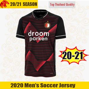 20 21 Feyenoord Soccer Jerseys V.Persie Berghuis 2020 2021 Feyenoord Rotterdam Jorgensen Kokcu Chemise de football Toornstra Sinisterra Jersey