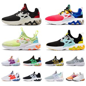 Nike Air React Presto Running Shoes Psicodélico Lava Brutal Honey Rabid Panda Breezy Quinta-feira Da Marinha Das Mulheres Dos Homens Sapatos Esportivos Treinador Drop Shipping