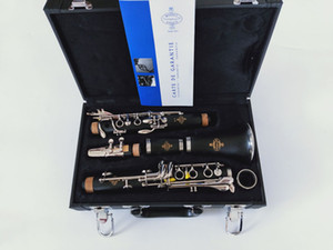 Professional level New Buffet 1825 B18 Clarinet 17 Key Bb Musical Instruments Clarinet With Black Case Bakelite Tube Clarinet Free
