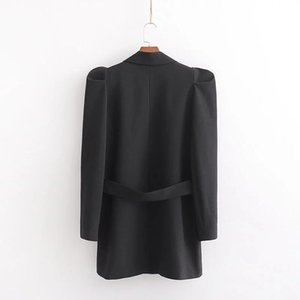 Cxd-2568 WOMEN'S Dress New Products peng xiu Mid-length Suit Jacket