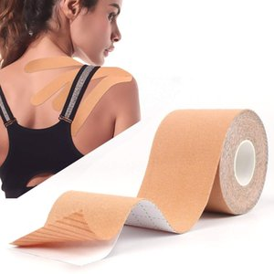 ports Safety Elbow & Knee Pads 5cm*5m Kinesiology Tape Sports Reduce Pain Injury Recovery,Athletic Tape Gym Fitness Tennis Running Kn...