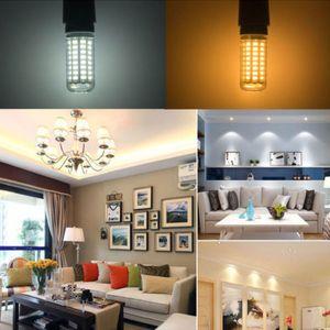 1PC E27 24/48 / 56LEDs 220V 5730 bulbo caliente / blanco 3/6 / 9W E27 5730 Tubos SMD maíz lámpara de la luz SMD LED de maíz
