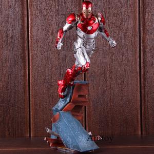 Tony Marvel Örümcek-Adam Homecoming Ironman Şekil Mark XLVII Demir Adam MK47 1/10 Ölçekli PVC Şekil Koleksiyon Model Oyuncak SH190915