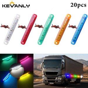 20pcs 24V 5630 9-LED Otobüs / Kamyon / Treyler / Kamyon Işıklar Side Marker Işık geçirmez LED Işık Kuyruk göstergesi Park LED