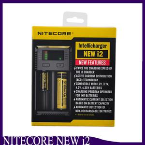 Nitecore Новый I2 Digicharger ЖК-дисплей зарядное устройство Универсальное зарядное устройство Nitecore i2 VS Nitecore i2 D2 D4 UM10 UM20 2238007
