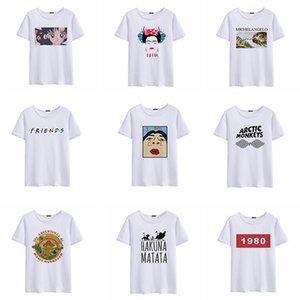 Kadın Gömlek Womens Tasarımcı Giyim Moda Marka Luck Kadın Diy Baskı T Shirt Tişört kap Kol İyi Fiyat Tops Lg Wt01 Tops