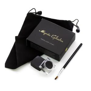 Falso Magnetic New Hot 3D cílios Black Gel Eyeliner Set Eyeliner Waterproof Maquiagem Durable pode ser reutilizado TSLM1