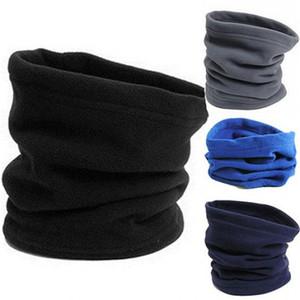 Mode Randonnée Camping Écharpe Masque visage pour les femmes Hommes Outdoor Snood Neck Gaiter chaud Polaire chapeaux d'hiver Écharpe