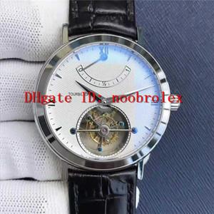 TW fabbrica PATRIMONIO visualizzazione 30550 Mens Watch reale Tourbillon Automatico Riserva di potenza meccanica 316L cassa in acciaio vetro zaffiro