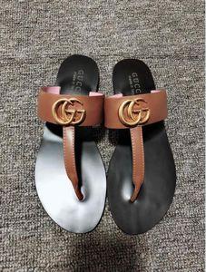 Top luxe pantoufles femmes string web sandale Casual main noir brun marche tennis sandales 4 couleur pantoufles mules diapositives tong