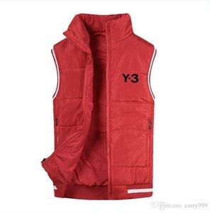 Fashion Y-3 Christmas Brand winter vest Mens Free Style vest men's coat giubbotto Down jacket tactical vest
