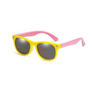 With Bag Rubber TR90 Children HD Polarized Sunglasses Kids sunglasses polaroid sun glasses For Girls Boys Baby Glasses eyewear