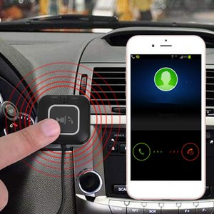 Wireless Car Bluetooth Music Transmitter Receiver Adapter Handsfree Car aux kit USB Cable Speaker With NFC bluetooth kit